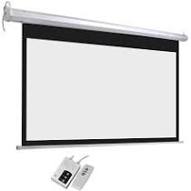 Wall Screen 96″ Focus Motorized + Remote (240 x 240)